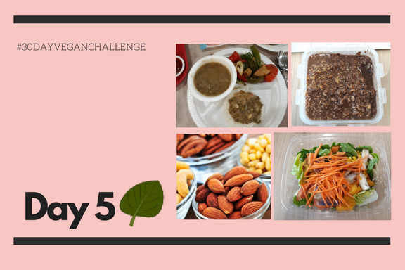 Vegan Challenge | Day 5