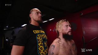 WWE Enzo Cass Lana Rusev Raw Backstage Skit