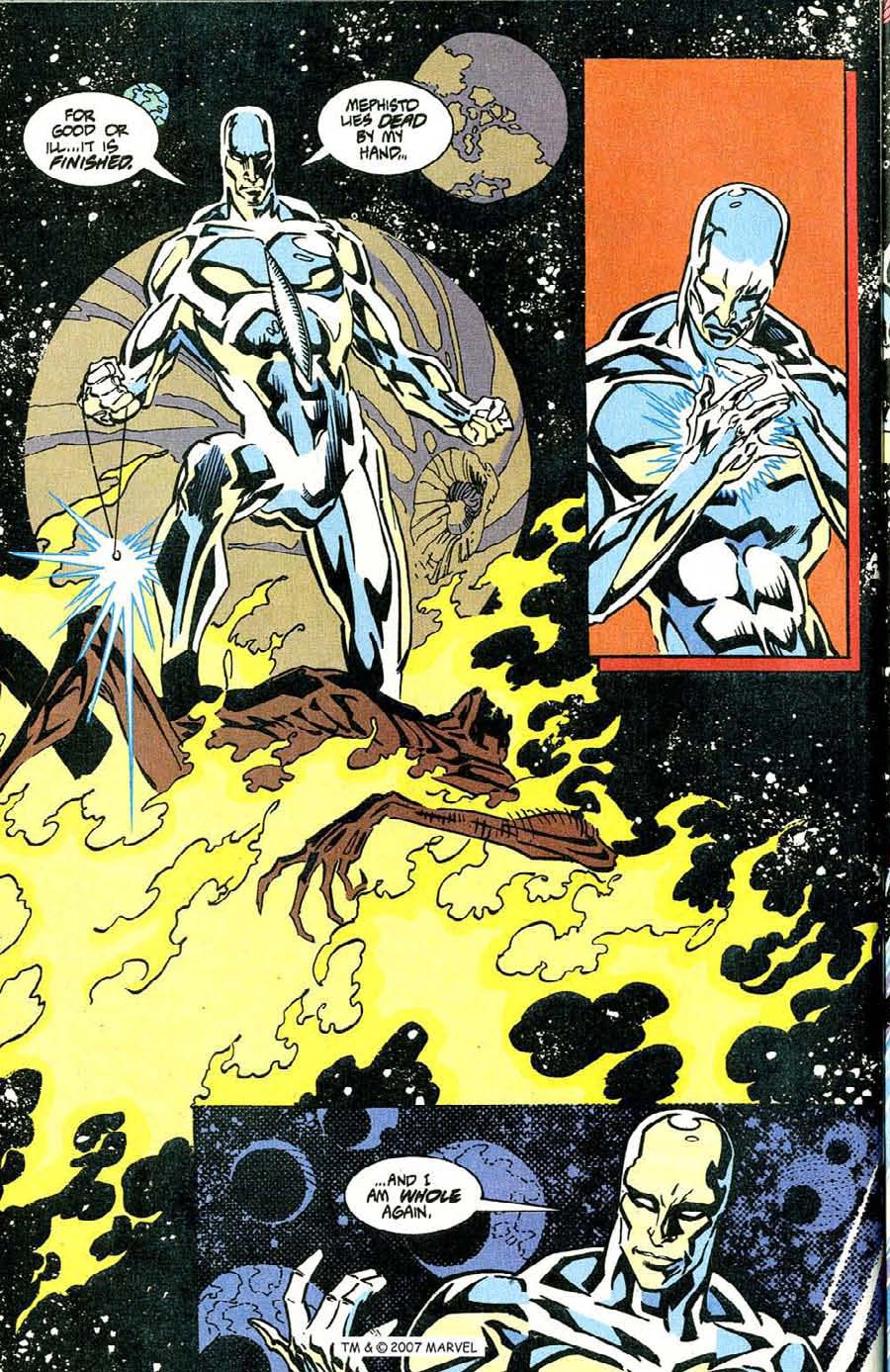 Read online Silver Surfer (1987) comic -  Issue #100 - 44