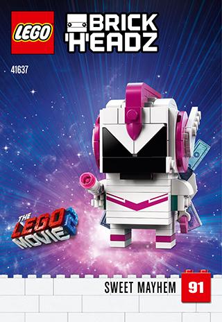 The Lego Movie 2 Lego BrickHeadz Sweet Mayhem IN HAND