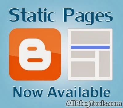 Cara Membuat Halaman Statis (Static Page) di Blog