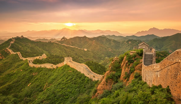 The great wall now days