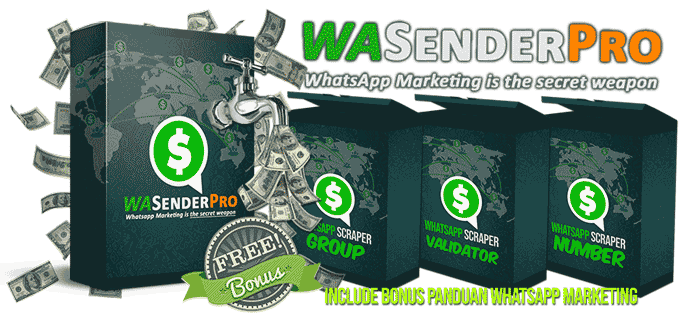 WASenderPro: Sofware Promosi yang Wajib Dimiliki Semua Internet Marketer