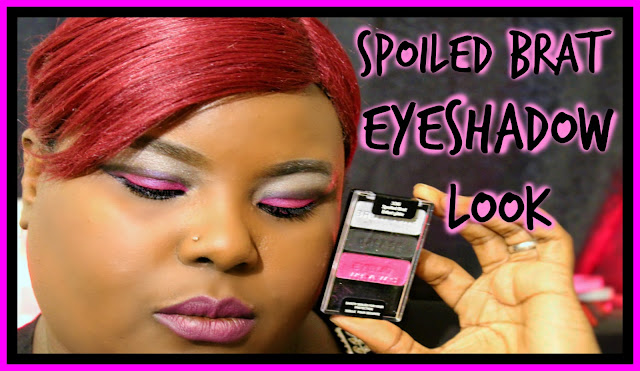 Spolied Brat Eye Shadow Look