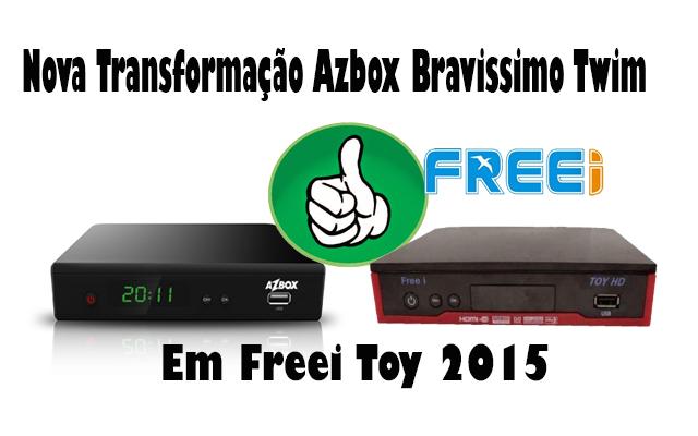 AZBOX BRAVISSIMO TRANSFORMADO
