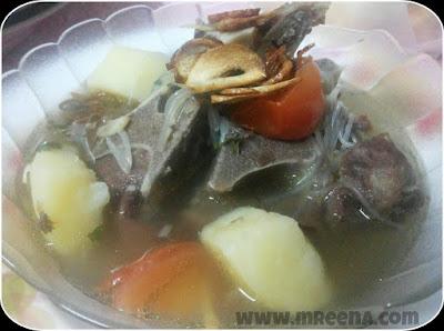 Resepi Sup Daging