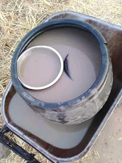 Photos: See the water Agasha people in Benue use for 'cooking and bathing'