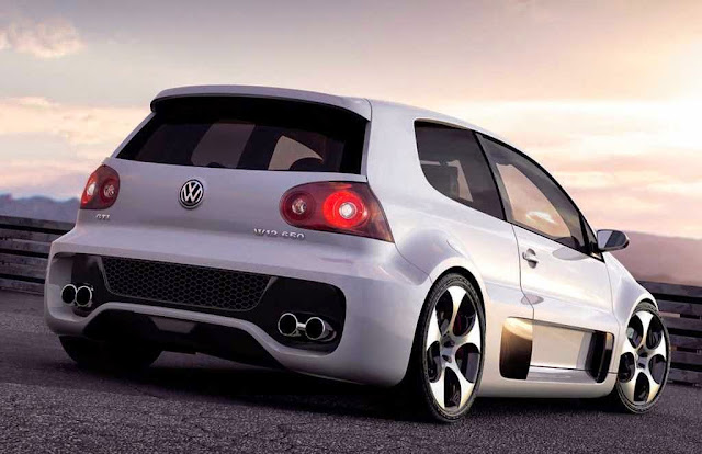 2014 VW Golf GTI rear