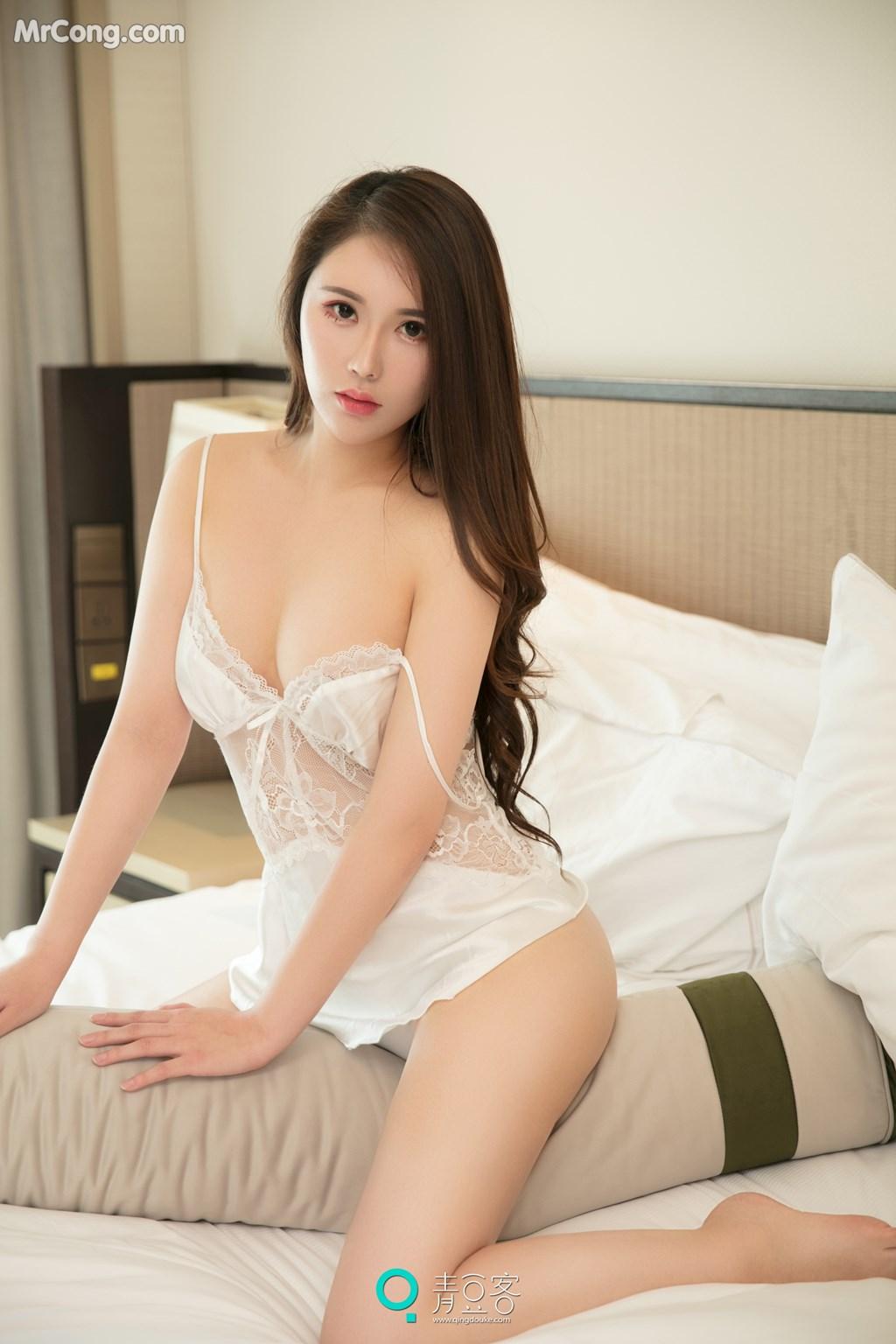 Image QingDouKe-2017-10-14-Rou-Dan-MrCong.com-007 in post QingDouKe 2017-10-14: Người mẫu Rou Dan (肉蛋) (54 ảnh)