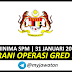 Jawatan Kosong Kerani Operasi Gred N19 / 31 Januari 2019