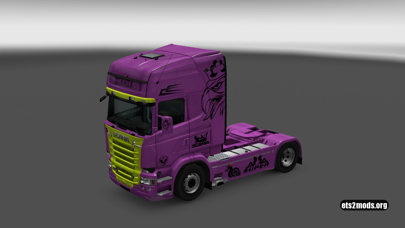 Pink Scania Combo Pack