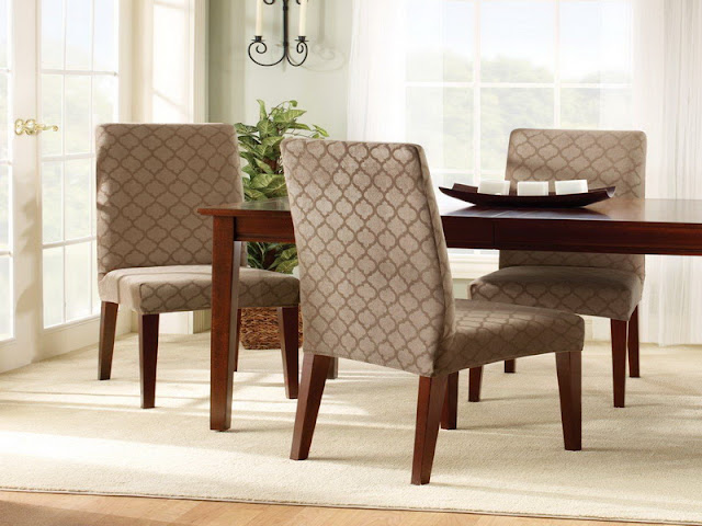 Dining Room Chair Covers: Cover up The Stain Dining Room Chair Covers: Cover up The Stain 10