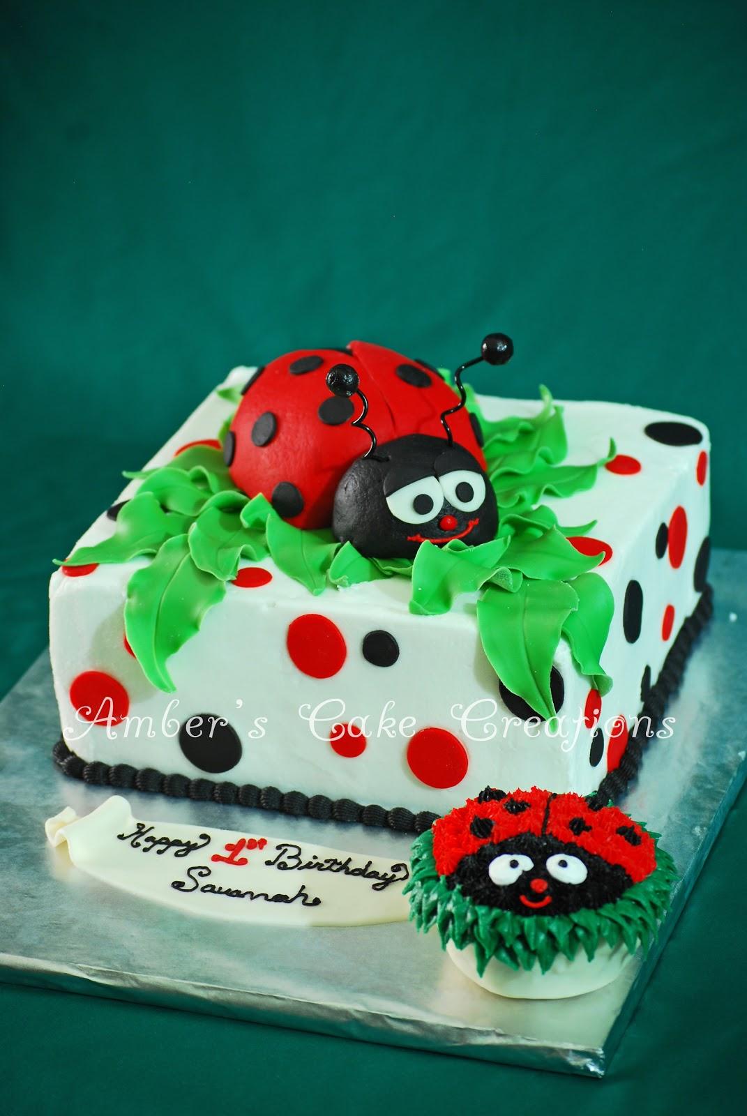 Ladybug Birthday Cakes Images