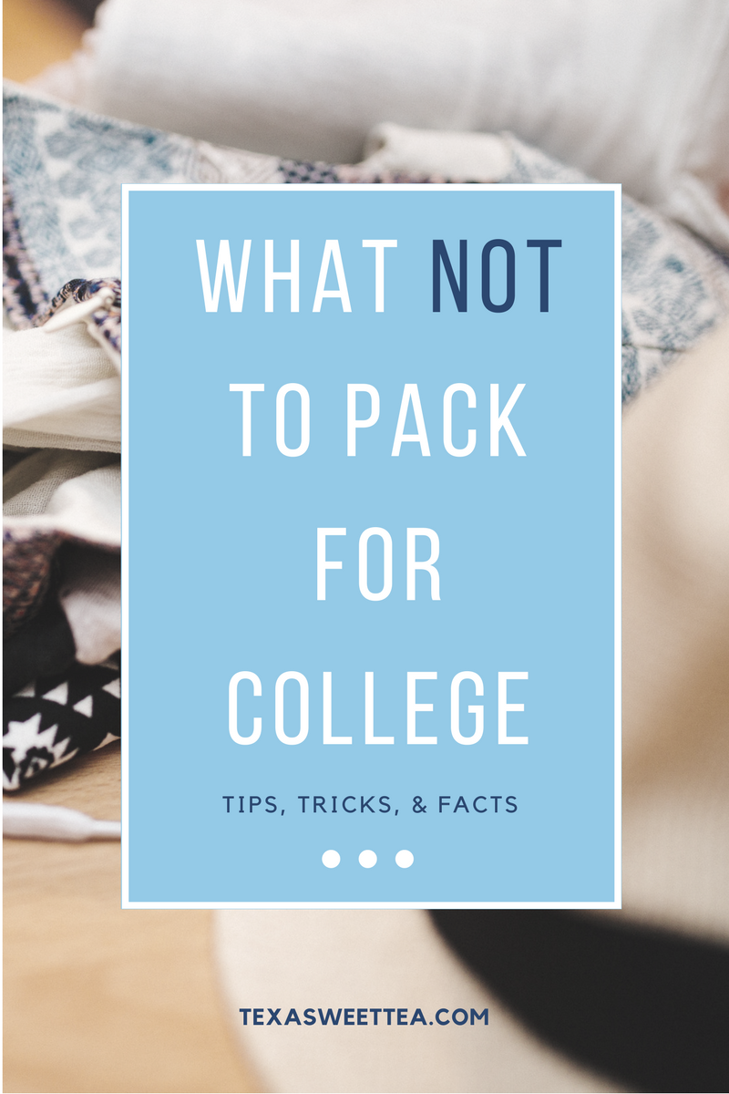 college packing list essentials dorm room university