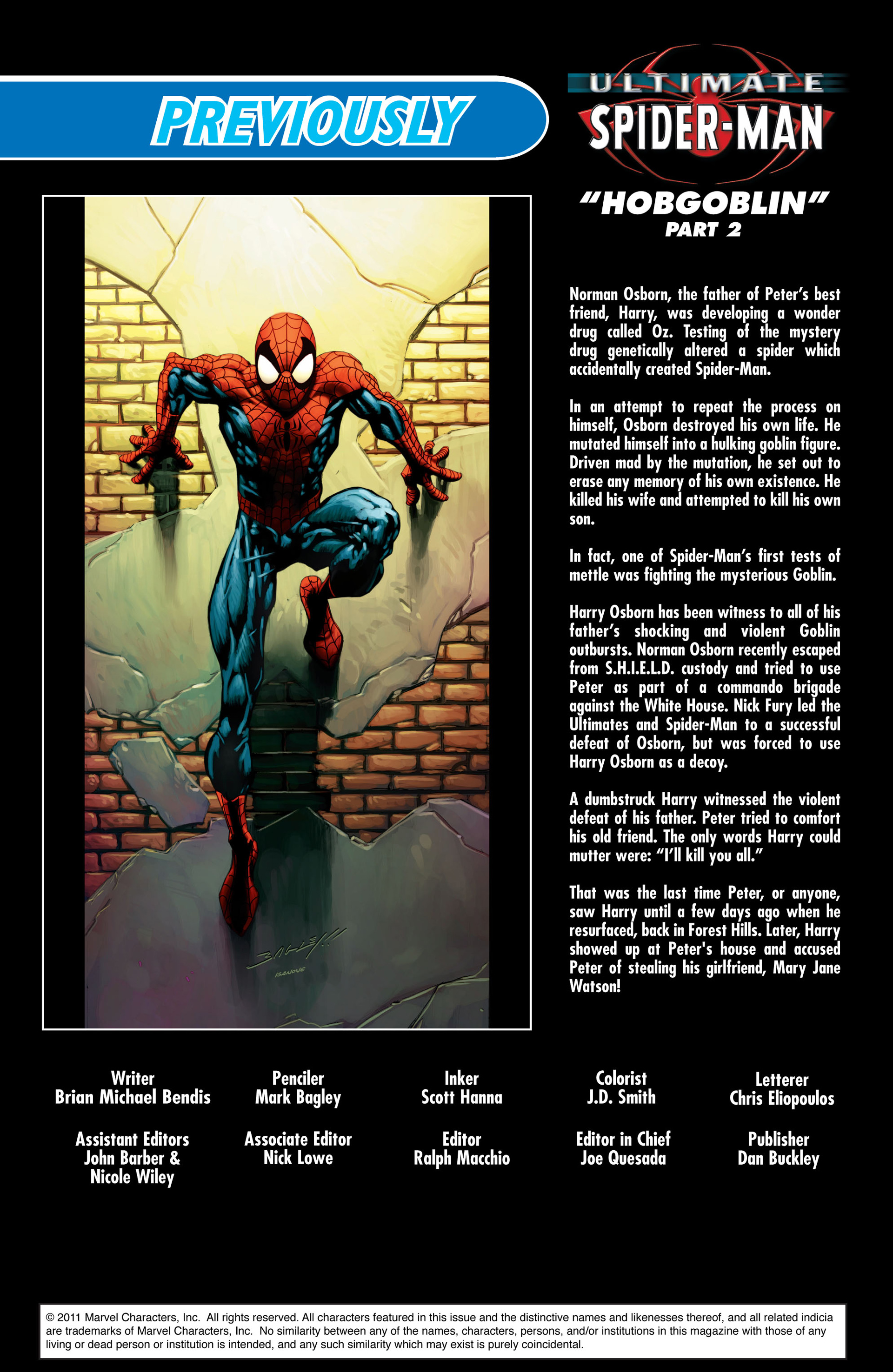 Read online Ultimate Spider-Man (2000) comic -  Issue #73 - 2