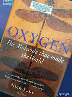 Oxygen: The Molecule that Made the World, by Nick Lane, superimposed on Intermediate Physics for Medicine and Biology.