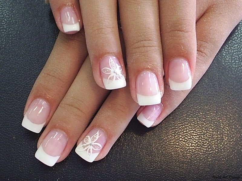 French Manicure Nails Gel Full Hd Pictures 4k Ultra Full