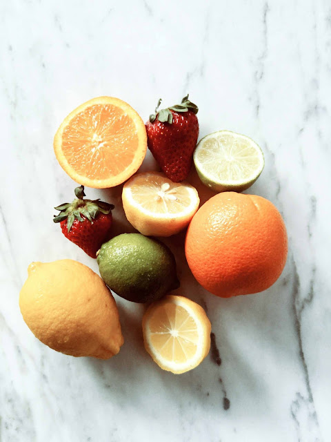 fruits, fraise,citron,mangue, orange, eau-tonique, detox,montreal
