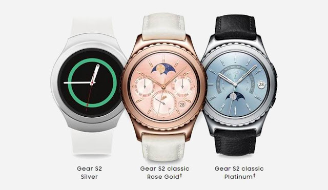 Samsung Launched 3 New Gear S2 Smartwatches in India