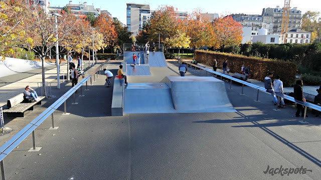 Skatepark paris luther king