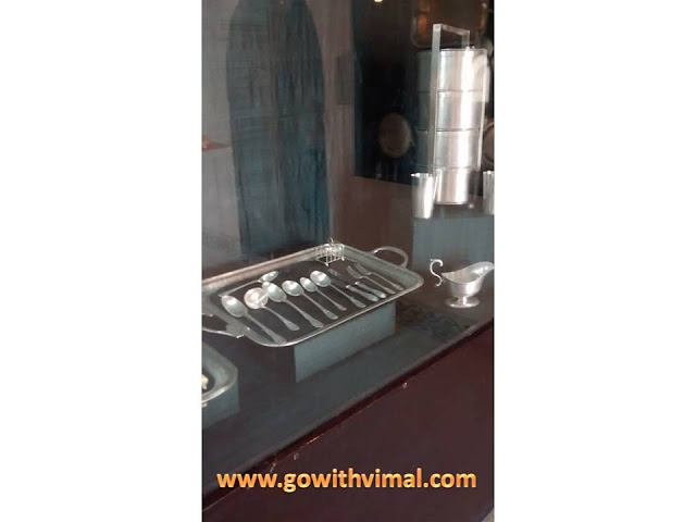 Silver cutlery in Prachina museum