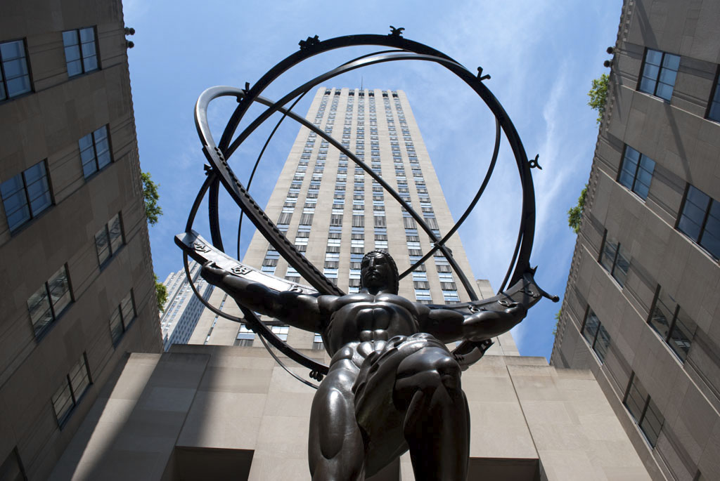 Atlas heavens Rockefeller center