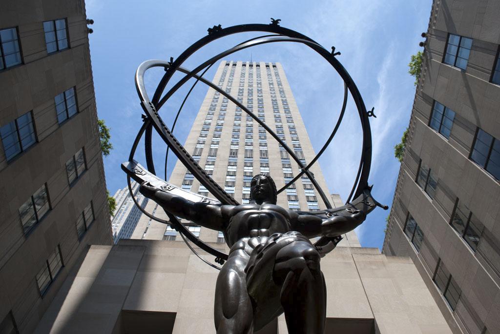 Atlas heavens Rockefeller center
