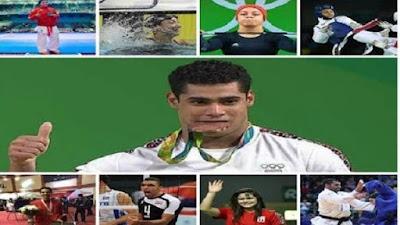 """""""السيسي"""" يكرم أبطال دورة ألعاب البحر المتوسط"""