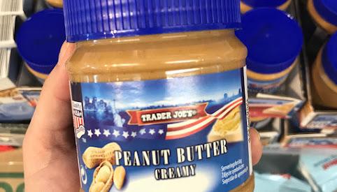 Masło orzechowe, Trader Joe's
