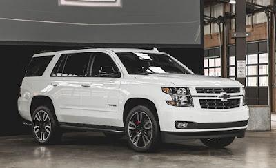 Chevrolet Tahoe 2019: RST, Prix, Couleurs, Spécifications