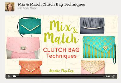 Mix  & Match Clutch Bag Techniques