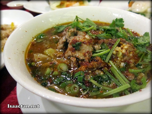 #3 Boiled Sliced Beef in Sichuan Spicy Pepper Sauce - RM52 (Medium) RM72 (large)