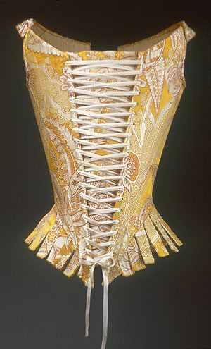 9d643ac4c00b Estos corset fueron la transición hacia el famoso corset victoriano o corset