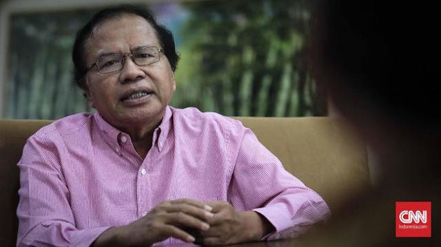 Rizal Ramli Minta Jokowi Berani 'Potong' Impor Baja China