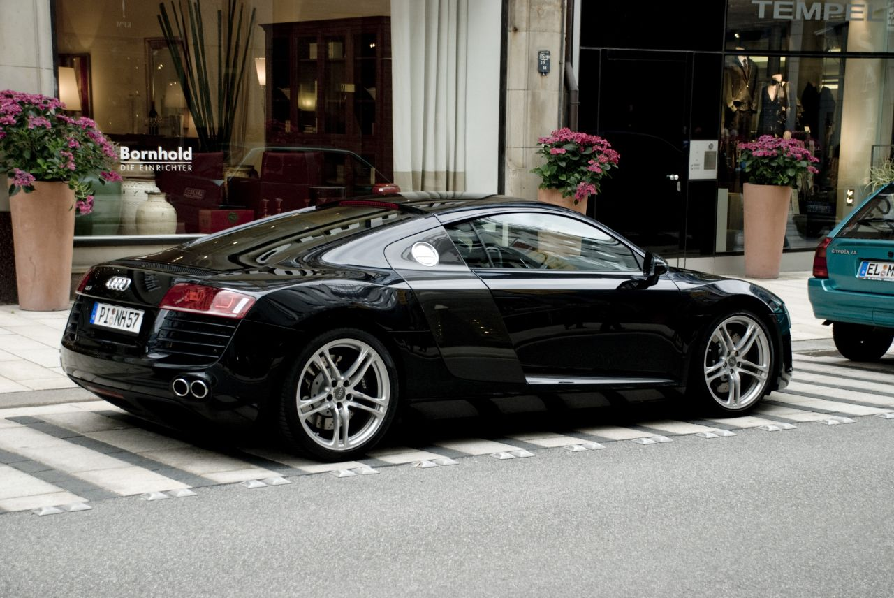 Black Audi R8 Wallpaper Hd Car Wallpapers