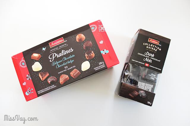 Chocolats des Fêtes Irresistibles de Metro