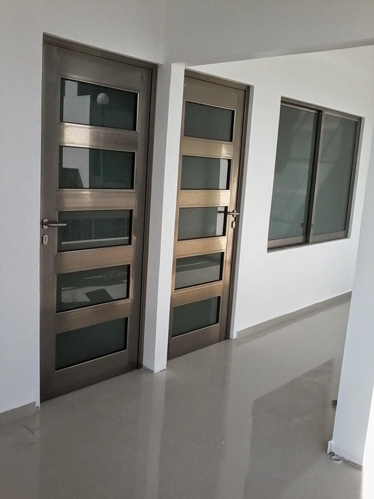 Cat logo de trabajos aluminio velazquez - Puertas de aluminio con cristal ...