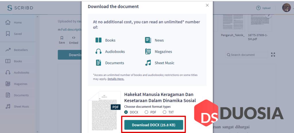 Cara Download File di Scribd Cepat dan Mudah