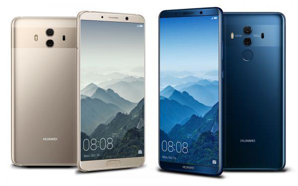 مواصفات وأسعار هواتف هواوي الجديدة Mate 10 و Mate 10 Pro