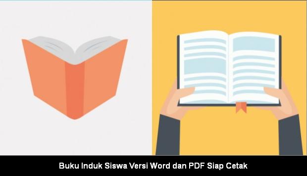 Buku Induk Siswa Versi Word dan PDF Siap Cetak