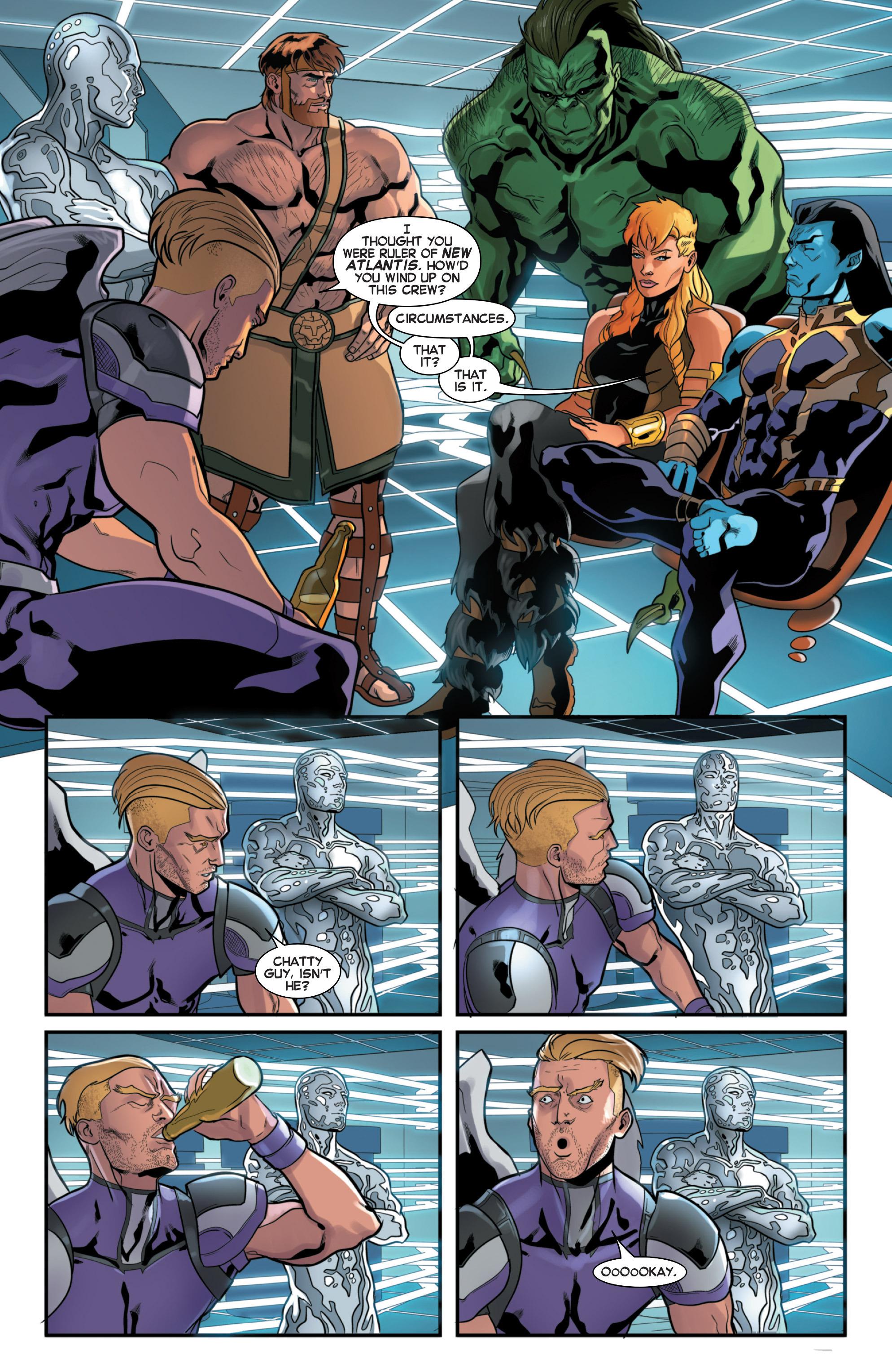 Read online Secret Wars 2099 comic -  Issue #3 - 14