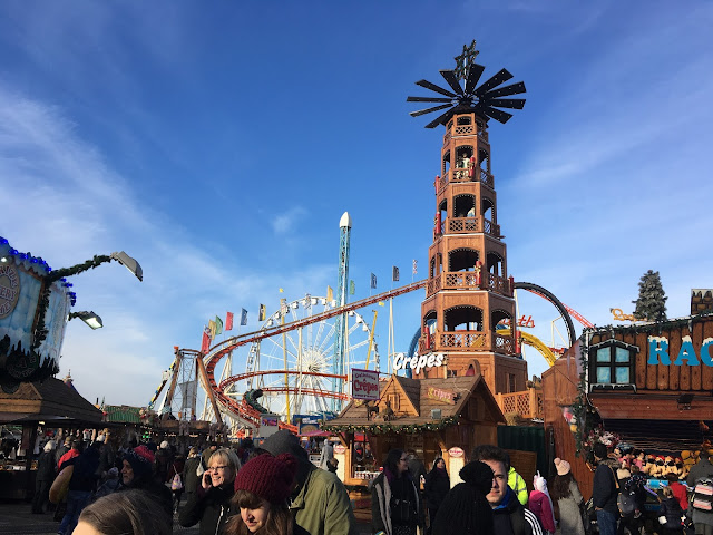Scene at Winter Wonderland, London 2017