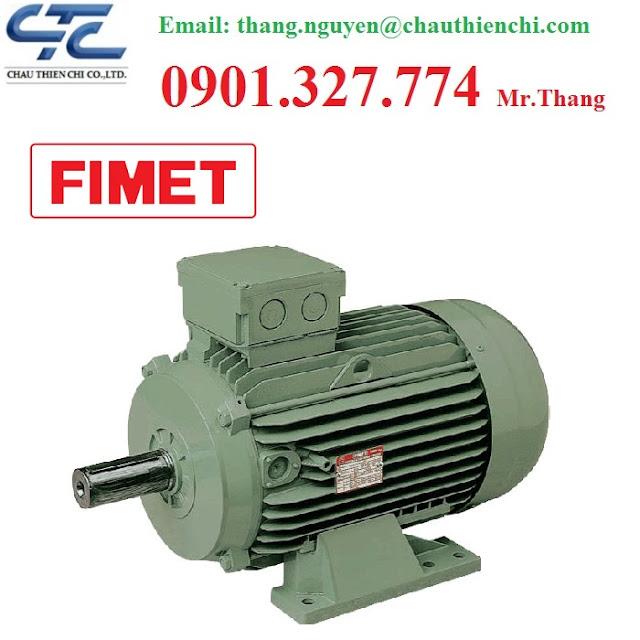 Động cơ Motor AC FIMET Đại lý Động cơ FIMET Tại Việt Nam