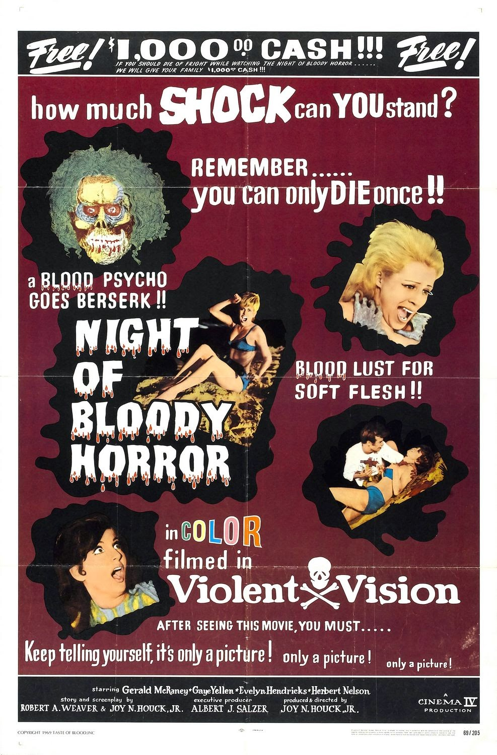 Night of Bloody Horror poster