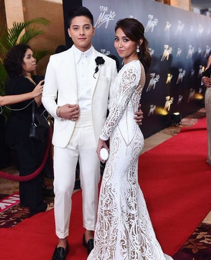 Daniel Padilla and Kathryn Bernardo Star Magic Ball 2015