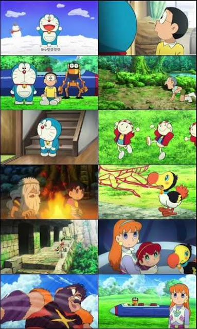 Doraemon Nobita And The Island Of Miracles (2012) Hindi Movie Download 300mb BluRay