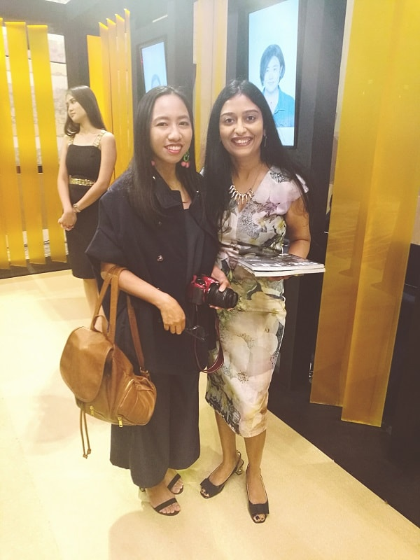 Me together with Olay Philippines, Brand Manager Ms. Chandana Sunder