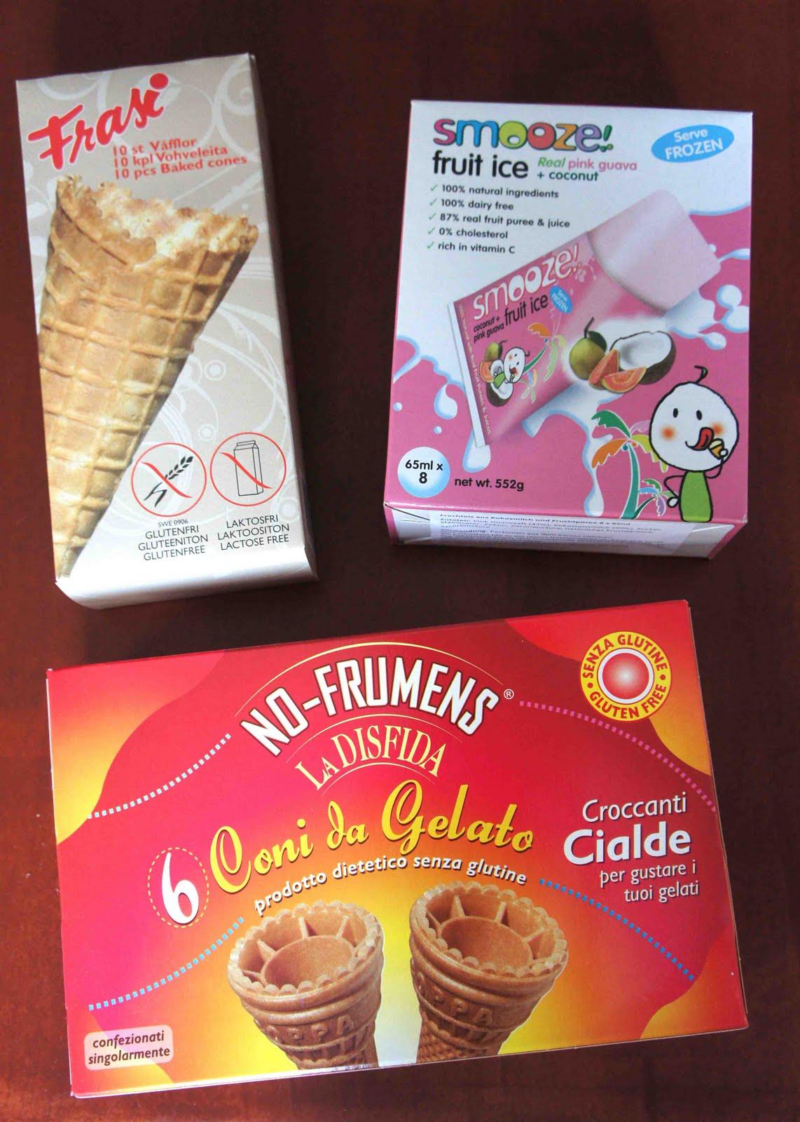 links: Coni da Gelato / rechts: Frasi