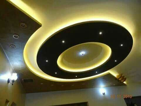 Eye-Catching Ceiling Design Ideas with Hidden LED Lights ...