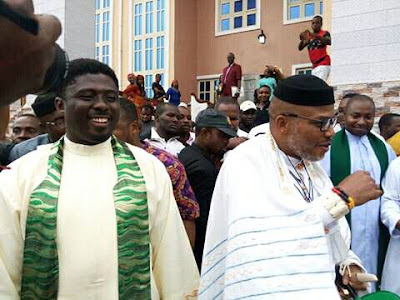 Read what Father Ebube Munso told Nnamdi Kanu over Biafra & Anambra Election